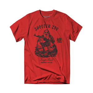 Shooter Zoo - Tough Luck Buddha Tee