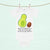 3-6 Monate Baby Body Avocado rollt Kern