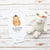 3-6 Monate Baby Body Hamster mit Hut