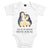 Baby Body Pinguin umarmend