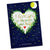 Postkarte Love u to the moon & back