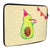 20 x 28 Notebook Tasche Avocado Party