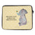 20 x 28 Notebook Tasche Elefant & Biene
