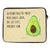 33 x 42 Notebook Tasche Avocado Happy
