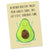 Postkarte Avocado Happy