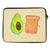33 x 42 Notebook Tasche Avocado + Toast