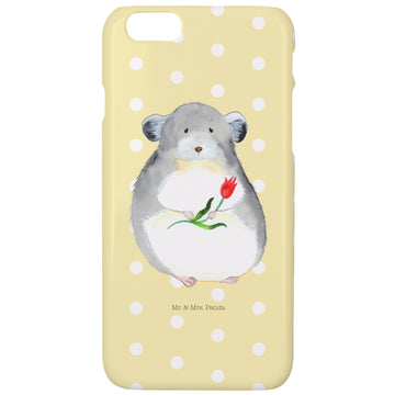 Iphone 6 / 6S Handyhülle Chinchilla mit Blume