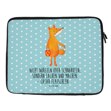 33 x 42 Notebook Tasche Fuchs Laterne