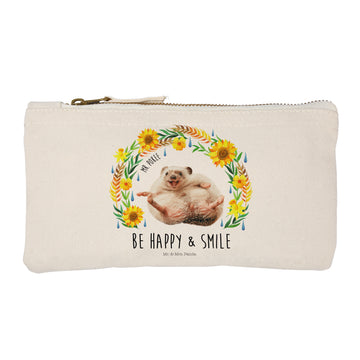 S Schminktasche Mr Pokee - Be happy and smile