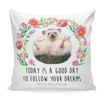 40x40 Kissen Mr Pokee - follow your dreams