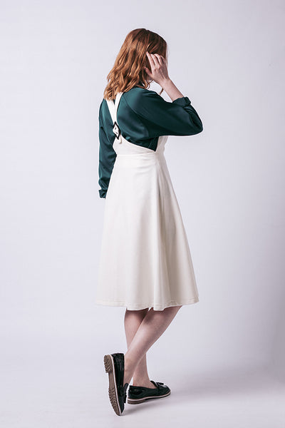 Amber Pinafore Dress (last copy in print!)