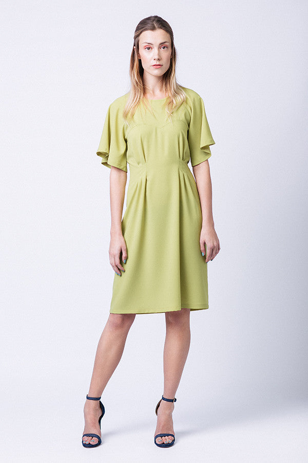 Ansa Butterfly Sleeve Dress & Top
