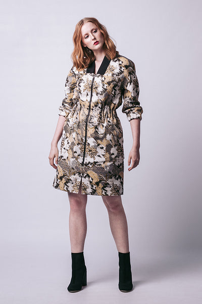 Beryl Bomber Dress (last copy available in print)