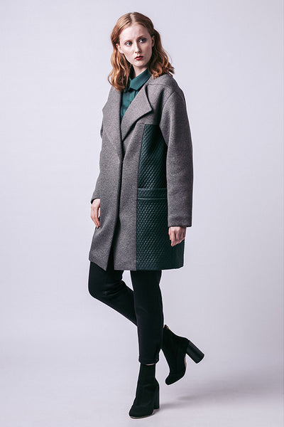 Gaia Quilted Coat (last copy in print)