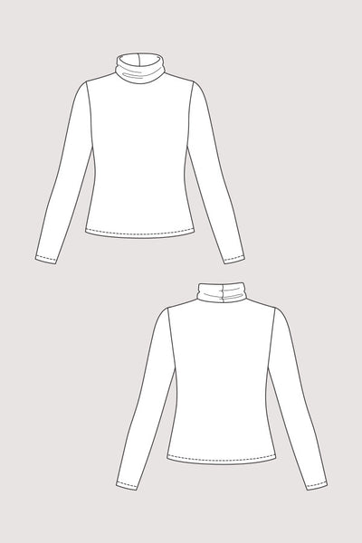 Paola Turtleneck Tee (last copy in print)