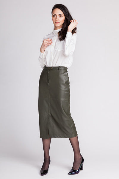 Polly Straight Skirt (last copy available in print)