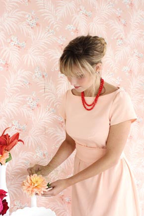 Peony Dress (last copy available in print)