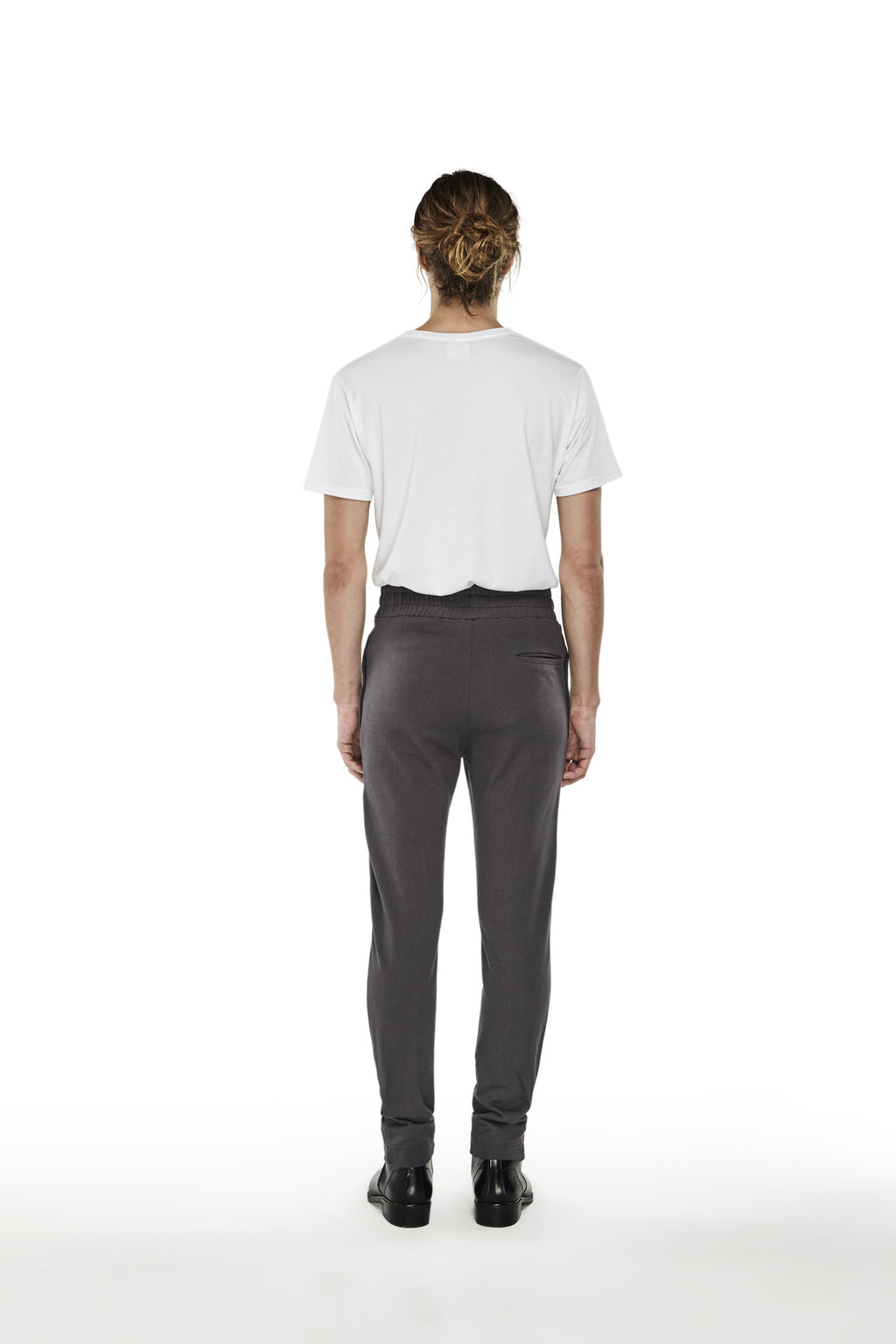 Hi-Waist Pleated Sweatpants