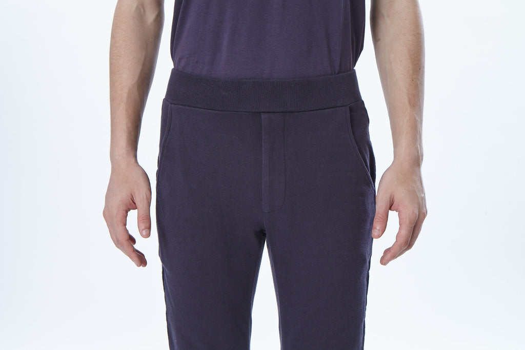 Slim-fit Cropped Sweatpants