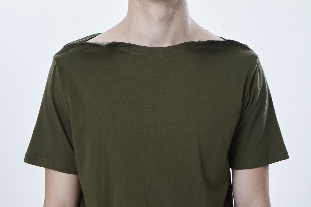 Boat Shoulder T-Shirt