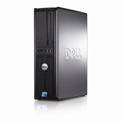 Refurbished Dell OptiPlex 380 Desktop, Intel Core2Duo, 2GB RAM, 160GB HDD, DVD-ROM - ETECHBAZAAR