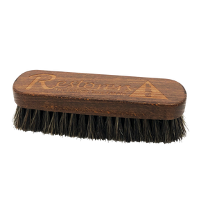 Luxury Horse Hair Leather Cleaning Brush