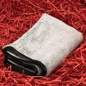 Plush Grey Microfibre Cloth