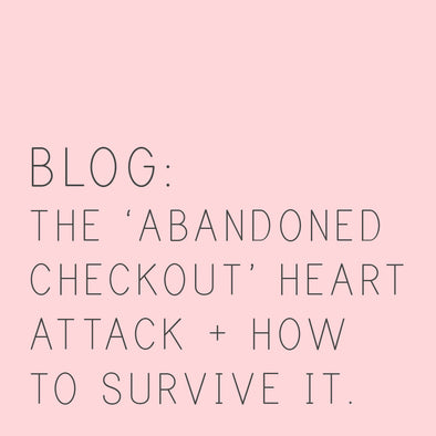 THE ABANDONED CHECKOUT HEART ATTACK