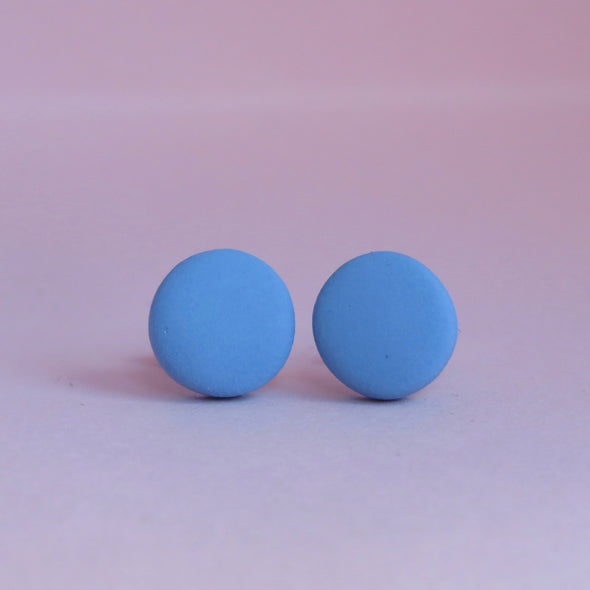 Cornflower Blue Small Studs