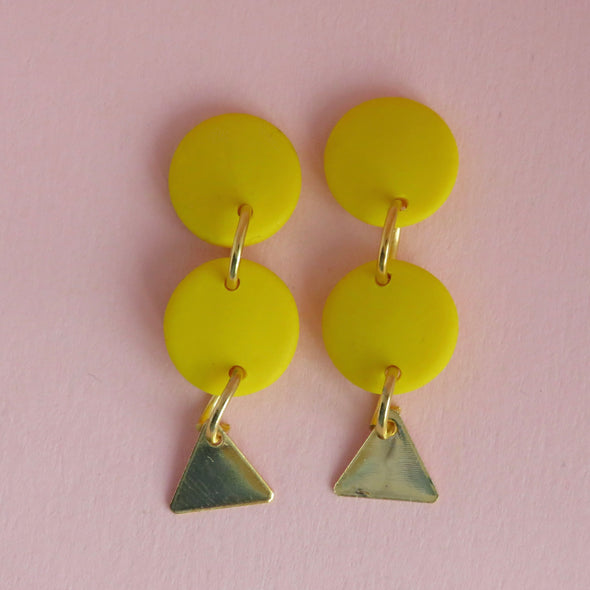 Canary Yellow Dangles