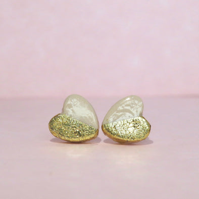 Gorgeous Gold Hearts