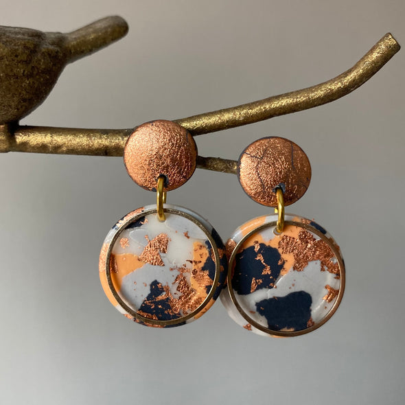 Gorgeous Rose Gold Dangles