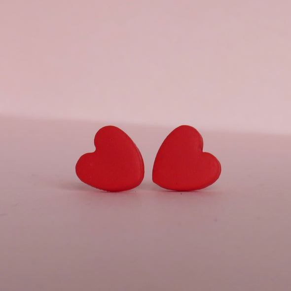 Classic Red Small Hearts