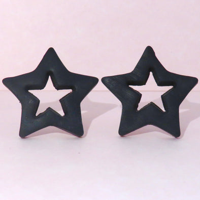 Gorgeous Large Star Studs