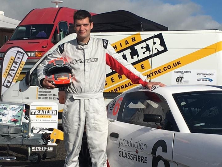 That Time Steven Dailly Won A Bet To Race In A Ginetta....