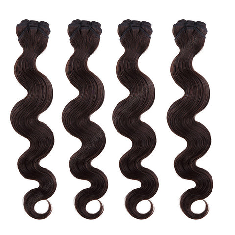 BRAZILIAN HAIR WEAVE 100% REMY Hair Body Wave #2 Brown