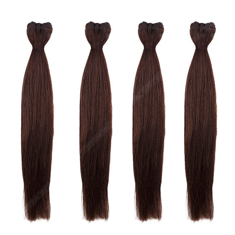 BRAZILIAN HAIR WEAVE 100% REMY Hair Straight #2 Brown