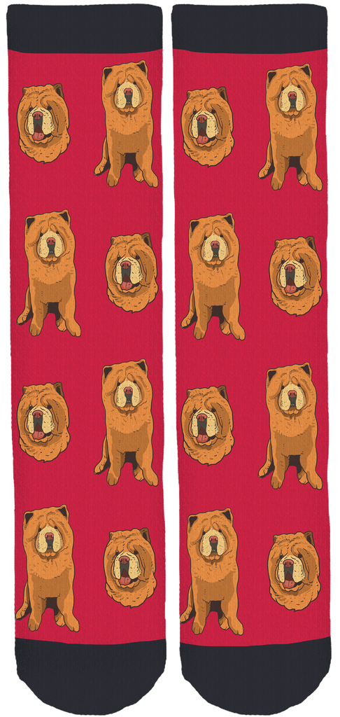 Chowder The Bear Dog Crew Socks