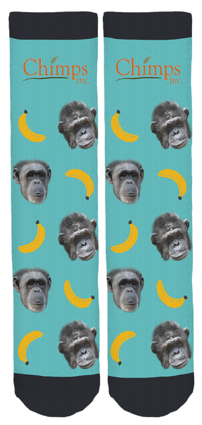 Chimps Inc. Crew Socks