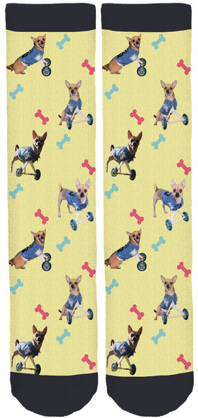 TurboRoo Crew Socks