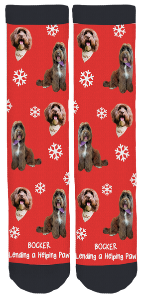 Bocker Holidays Crew Socks