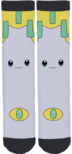 Sleepy Jirachi Crew Socks