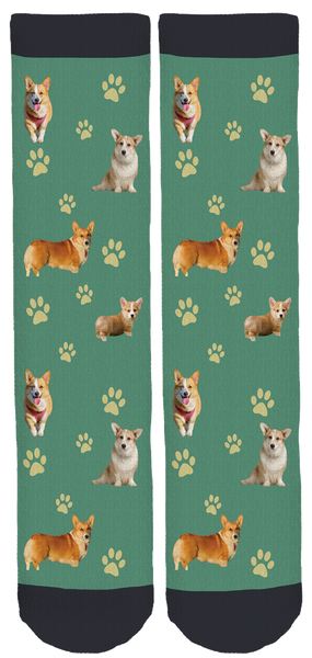 Corgi Lover Crew Socks