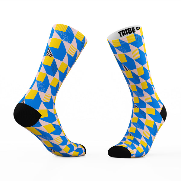 Geometric Tiles Socks