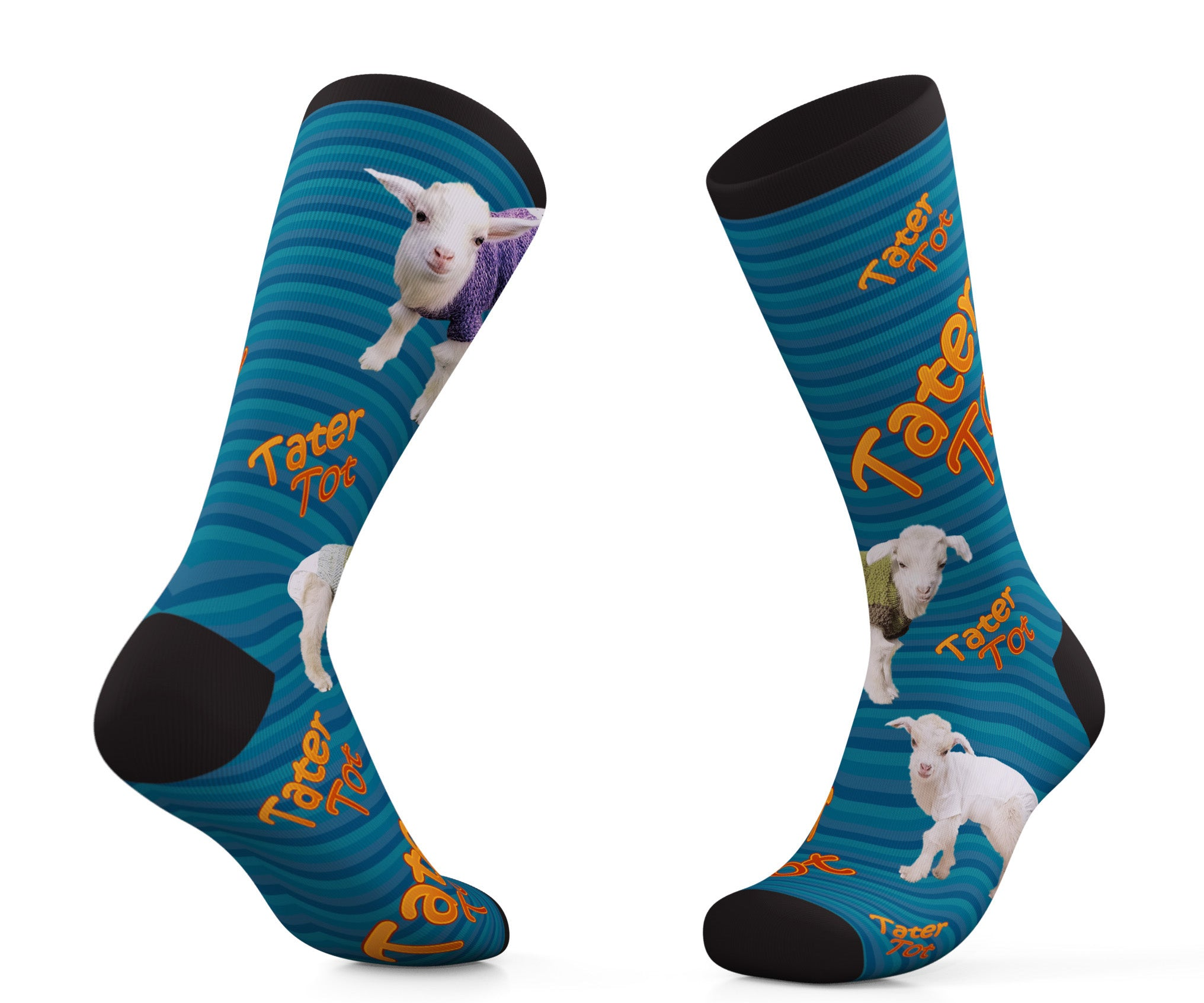 Goats of Anarchy Tater Tot Socks