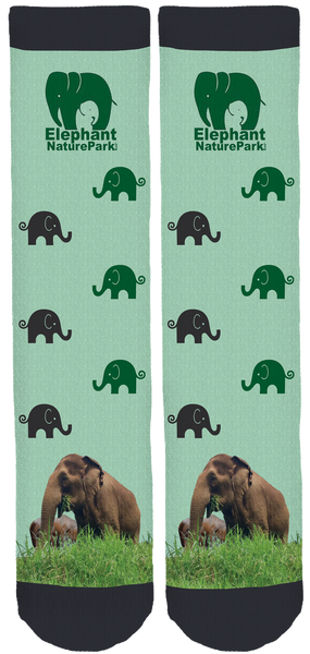 Elephant Nature Park Crew Socks