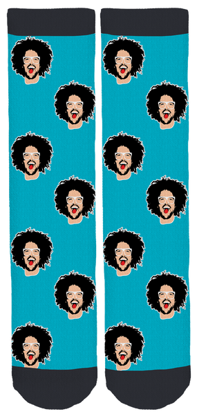 Aqua Redfoo Socks