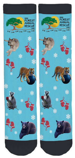 Forest Animal Rescue Crew Socks