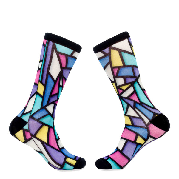 @DRTLondon Geometric Socks