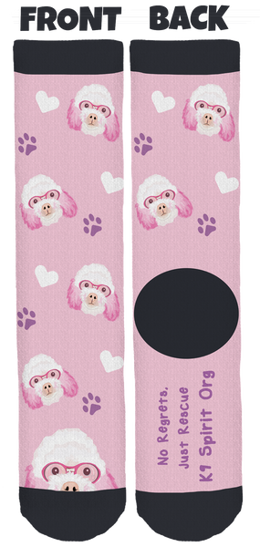 K9 Spirit Organization Crew Socks
